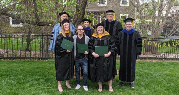 First Ph.D. cohorts graduates